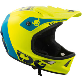 TSG Squad Graphic Design Helmet trap acid yellow